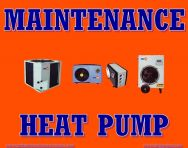 ARTICLE MAINTENANCE WIKA HEAT PUMP WATER HEATER  PERAWATAN PEMANAS AIR WIKA HEAT PUMP