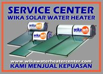 ARTICLE SERVICE WIKA SWH CENTER  PEMANAS AIR WIKA TENAGA SURYA MATAHARI  WIKA SOLAR WATER HEATER