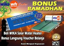 ARTICLE PROMO BONUS RAMADHAN DARI WIKA WATER HEATER